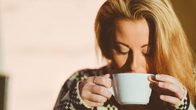 朝,コーヒー